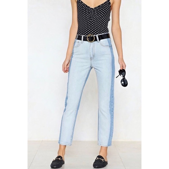 fafe82179 Nasty Gal Jeans | Two Can Play At That Game Twotone | Poshmark